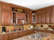 Wolf Classic: Hudson Cabinetry in Heritage Brown w/ Choc Glze