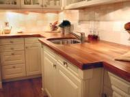 Cherry Butcher Block Countertop