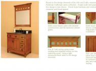 Sagehill Designs: American Craftsman Vanity