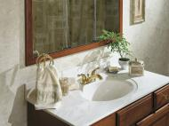 Cultured Marble Vanity Top from the Palette Collection