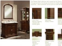 Sagehill Designs: Palladio Bath Vanity