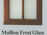 Wellbuilt | Mullion Frost Glass