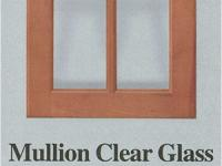 Wellbuilt | Mullion Clear Glass Light Wood