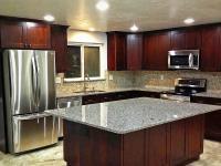 J&K S1 Black Coffee Maple Glazed Cabinets
