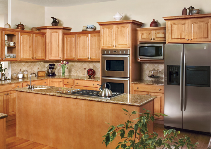 cornerstone maple athens - Canyon Kitchen Cabinets