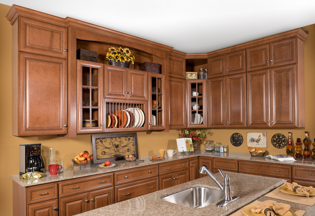 Wolf Classic: Hudson Cabinetry in Heritage Brown w/ Choc Glze - Wolf Classic Cabinets South Jersey & Philadelphia Www