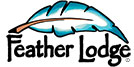 feather lodge cabinetry logo