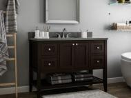 CNC Vanities: Vanguard Series Espresso