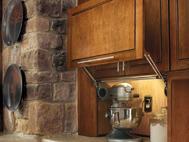 KraftMaid Kitchen Innovations: Wall Appliance Garage