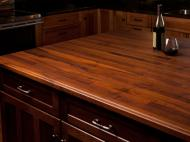 Black Walnut Butcher Block Island Countertop