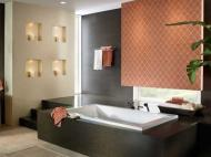 Wilsonart Engineered Surfaces: Sonata Espresso Bathroom