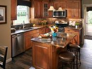 Wolf Classic: Hudson Cabinetry in Heritage Brown