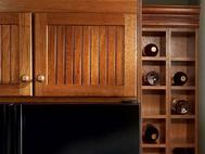 KraftMaid Kitchen Innovations: Wall Wine Rack Cabinet