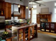 Kraftmaid: Cherry Kitchen in Kaffe