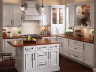 Kraftmaid: Kitchen in Maple in Dove White