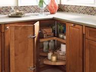 KraftMaid Kitchen Innovations: Vanity Wood Lazy Susan
