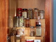 KraftMaid Kitchen Innovations: Tiered Storage Shelf