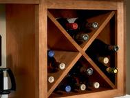 KraftMaid Kitchen Innovations: Wine Storage Cabinet