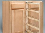 Kitchen Kompact Custom Touches: Rev-a-Shelf Pull-Out Filler