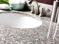 Wolf Natural Granite Vanity: Burlywood