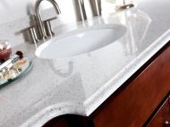 Wolf Palette Collection: Engineered Stone Glacierstone Vanity Top