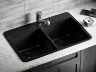 Solera Upgrade Line Sink: Granite S208TBL