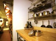 Butcher Block Commercial Kitchen