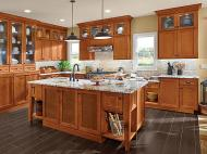 Kraftmaid: Cherry Kitchen in Praline