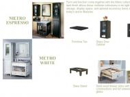 Sagehill Designs: Metro Espresso and Metro White