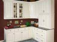 Wolf Classic: Hudson Cabinetry in Heritage in Antique White