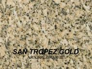 Wolf Palette Collection: San Tropez Gold Natural Granite