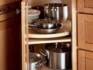KraftMaid Kitchen Innovations: Lazy Susan Angle