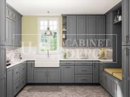 US Cabinet Depot: Shaker Gray
