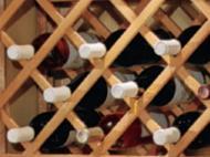 Kitchen Kompact Custom Touches: Accessory Match Lattice Wine Rack