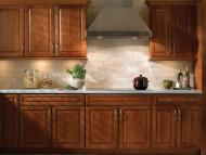 Kraftmaid: Cherry Kitchen in Sunset