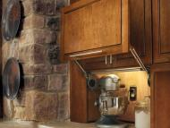 KraftMaid Kitchen Innovations: Wall Appliance Garage