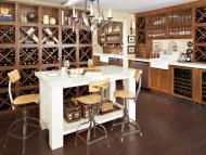 Kraftmaid: Oak in Cognac Kitchen