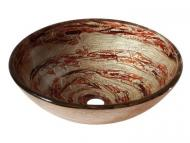 "Avanity: 16.5"" Round Glass Vessel Sink"