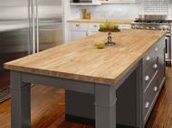 Hevea Butcher Block Kitchen Photo