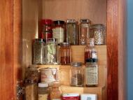 KraftMaid Kitchen Innovations: Tiered Storage Shelf