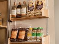 KraftMaid Kitchen Innovations: Wood Tall Door Storage