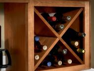 KraftMaid Kitchen Innovations: Wine Storage Cabinet