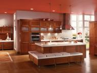 Kraftmaid: Cherry Kitchen in Cinnamon
