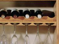 Kitchen Kompact Custom Touches: Accessory Match Stem Glass Holder