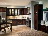 Kraftmaid: Cherry Kitchen in Peppercorn