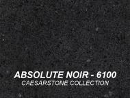 Wolf Palette Collection: Absolute Noir (6100) Caesarstone Collection