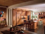 Kraftmaid: Kitchen in Cherry in Honey Spice