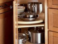 KraftMaid Kitchen Innovations: Lazy Susan Angle