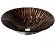 "Avanity: 17.7"" Round Glass Vessel Sink"