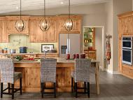 Kraftmaid: Rustic Alder Kitchen in Natural